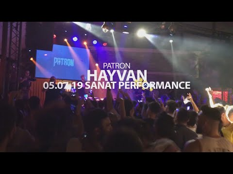 Patron - Hayvan (Live Performance) #SanatPerformance