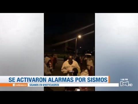Así se vivió el sismo que durante la madrugada despertó a Bogotá