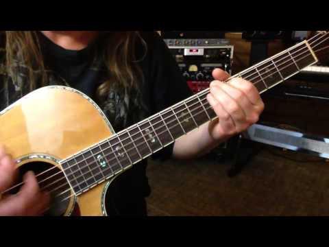Alternate Tuning DA#CGCD - Key C Natural Minor