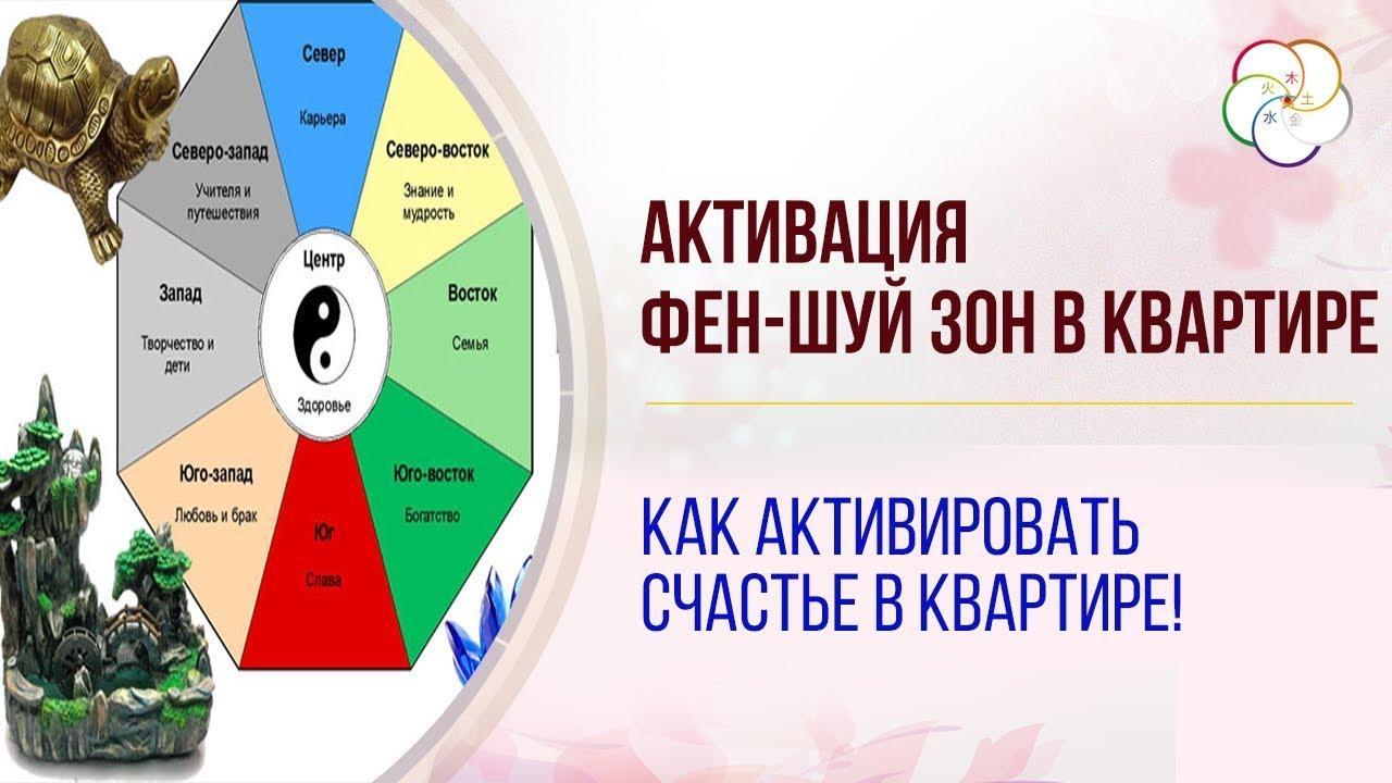 Активация Фен-Шуй зон в квартире! Как активировать счастье в квартире.
