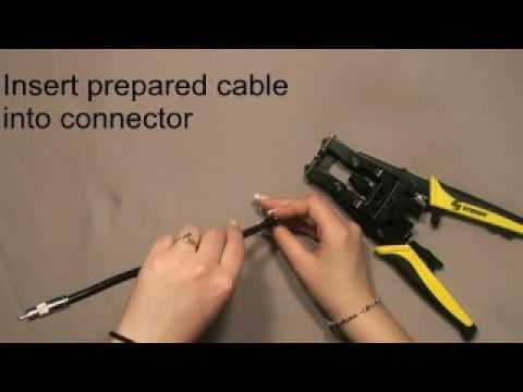 Coaxial cable Termination