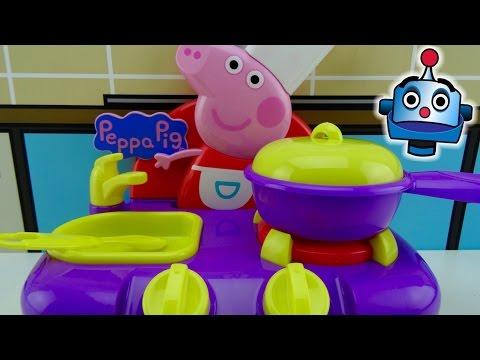 Cocina Musical y Maletín de Cocinera de Peppa Pig