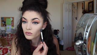 Spring Makeup Tutorial | Baking Method | Sara K
