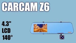 Видеорегистратор — зеркало Carcam Z6