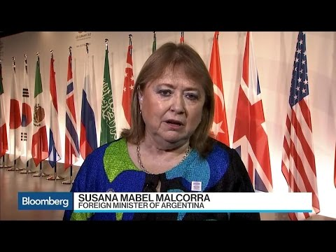 Argentina's Malcorra Seeks Global Trade Solutions