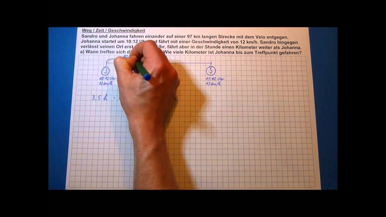 strecke berechnen physik strecke l nge der strecke ab berechnen mathelounge berechnen beispiel. Black Bedroom Furniture Sets. Home Design Ideas