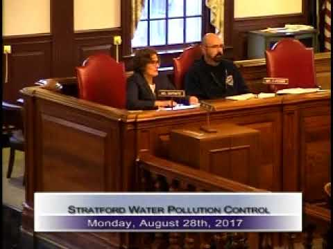 Stratford Water Pollution Control Authority 08/28/2017