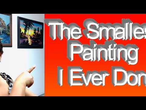 #ASMR, #acrylicpainting, #whisper l ASMR Acrylic Painting (whispers, brush tapping sounds 2019) CC