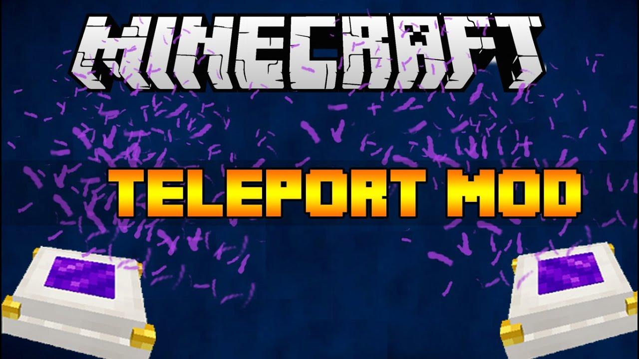Simple Teleporters для Майнкрафт 1.10.2