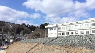 三陸鉄道リアス線(JR山田線) 試運転 釜石行