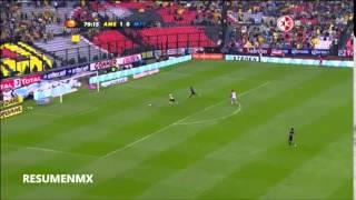 America 2-0 Monterrey LIGA Bancomer MX Apertura 2014 Jornada 13 Canal de las Estrellas