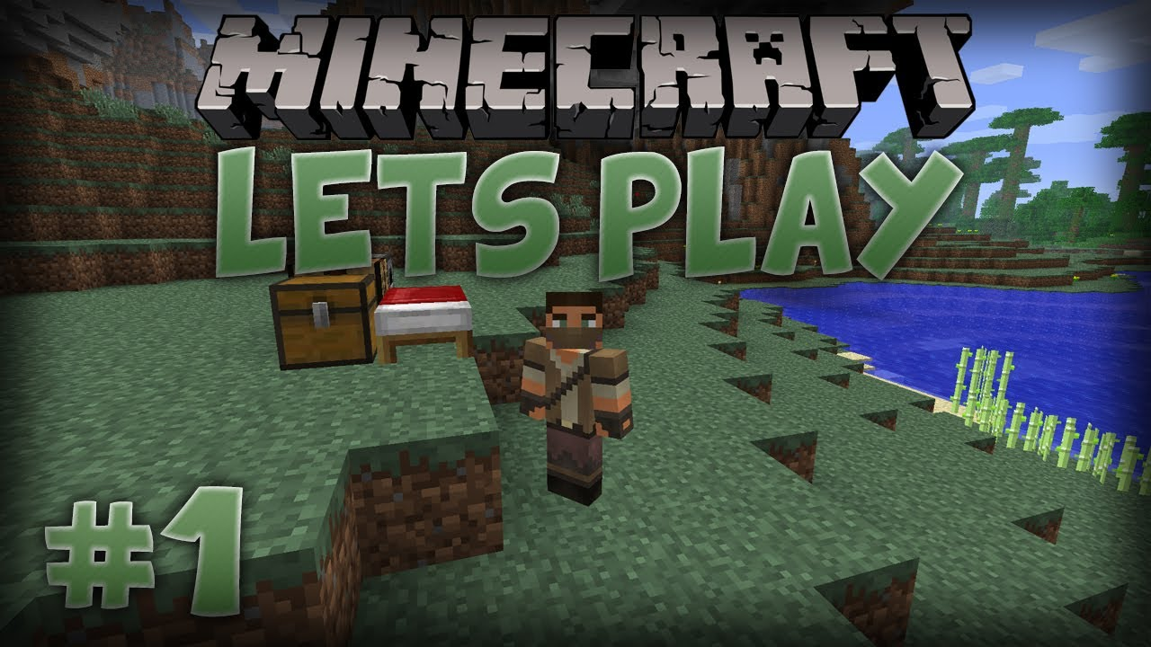 Let S Play Minecraft Episode 1 A Fresh Start Youtube