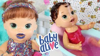 Baby Alive Sara em 1 Hora de Vídeos / Baby Alive Brasil
