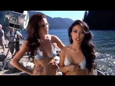 Kokanee Glacier Girls  pillow fights  bikinis  movie magic  YouTube