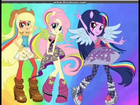 Купить Эквестрия Герлз My Little Pony B1779 Equestria