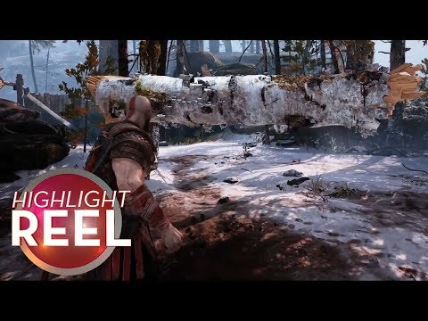 Highlight Reel #391  Maybe Kratos Isnt That Strong