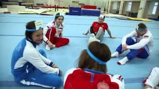 Aliya Mustafina, Viktoria Komova, Maria Paseka, Ksenia Afanasyeva, Denis Ablyazin, David Belyavskiy