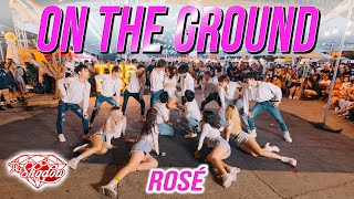 Download [KPOP IN PUBLIC | 1TAKE] ROSÉ - 'On The Ground' Dance Cover By THE SHADOW HCM from Vietnam