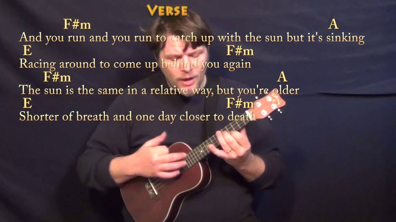 Time pink floyd ukulele cover lesson with chordslyrics youtube time pink floyd ukulele cover lesson with chordslyrics hexwebz Images