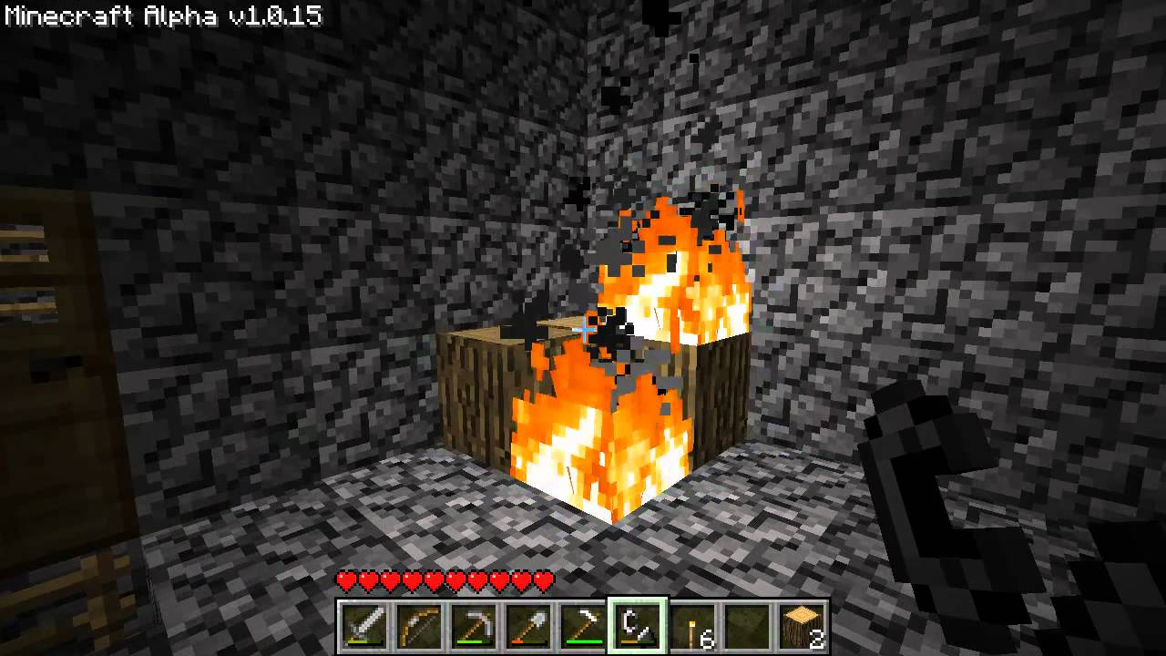 Minecraft How to Make a Fireplace - YouTube