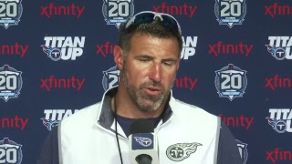 #TitansCamp Press Conference: Head Coach Mike Vrabel
