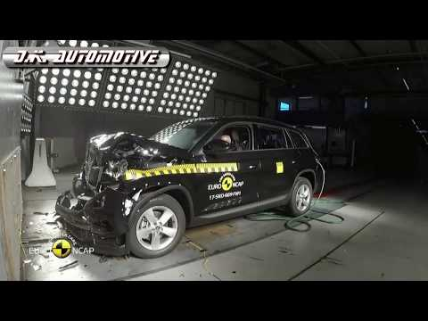 Skoda Kodiaq 2017 euro NCAP crash test (five stars rating)!!!!!!!