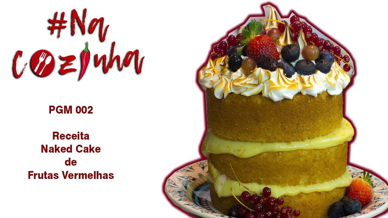 Montagem de um bolo Naked cake de morango. - YouTube