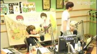 120815 Sukira - Kyuhyun in the Studio