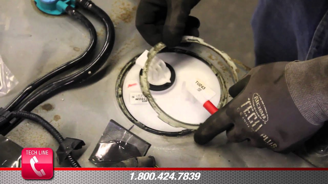 How To Install Fuel Pump Assembly E2455m In A 2004 2006
