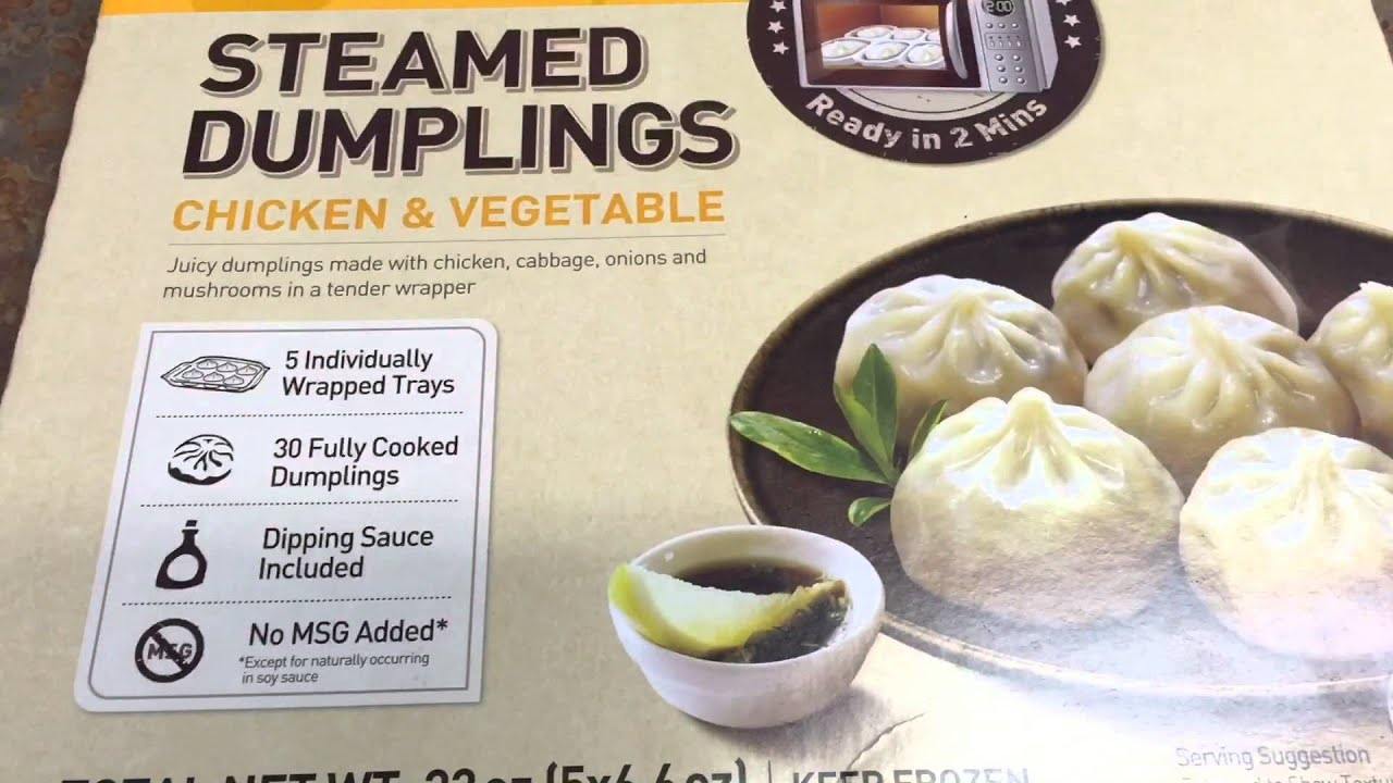 costco pick | bibigo steamed dumplings