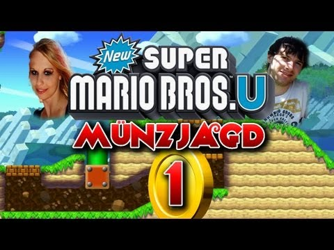 New Super Mario Bros U Münzjagd Münz-Level 1 + Münzeditor