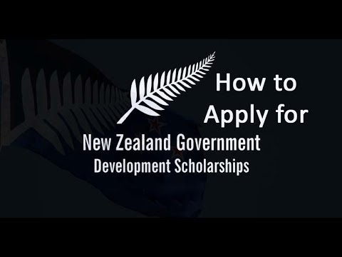 How to Apply: New Zealand Development Scholarship for African/Developing Countries
