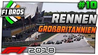 F1 2018 | LIGARENNEN GROßBRITANNIEN - S6 #10 - Unglaublich enges Feld!! | F1 Bros League