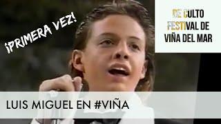 Luis Miguel su primera vez Festival de Viña  (1985) / 60 Momentos de Culto #VIÑA #LUISMIGUEL #CHILE