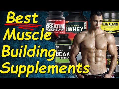Best Muscle Building Supplements | Best supplements for MUSCLE GAIN | Muscle GROWTH Supplements