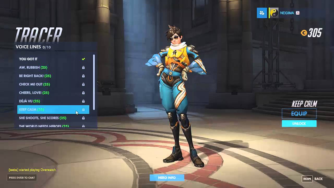 overwatch japanese voice lines tracer youtube