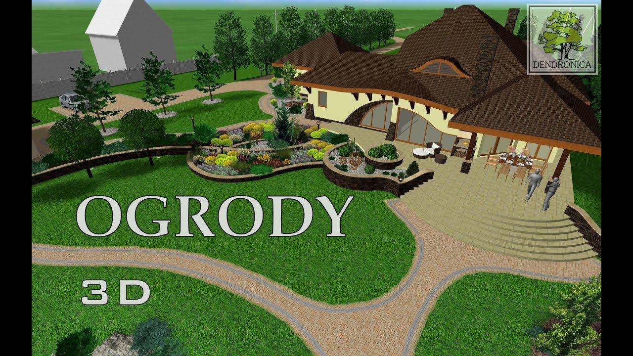 Dendronica  Projektowanie Ogrodów  Landscaping & Garden Design Ideas - YouTube