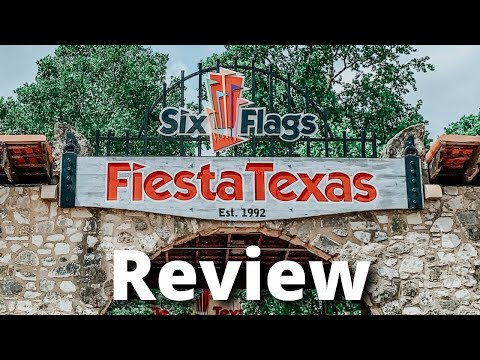 Six Flags Fiesta Texas - Review (San Antonio, TX)