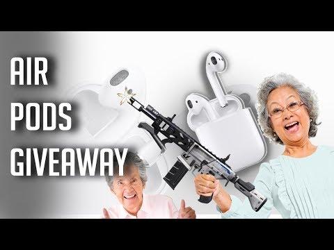 Air Pod Giveaway!!!!!, Gamer Glasses, And Grandma Plays
