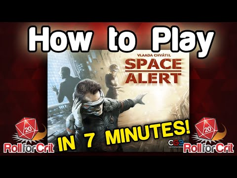 How to Play Space Alert | Roll For Crit