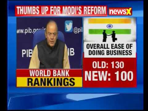 India gets 'best ever ranking' in World Bank Doing Business 2018 report