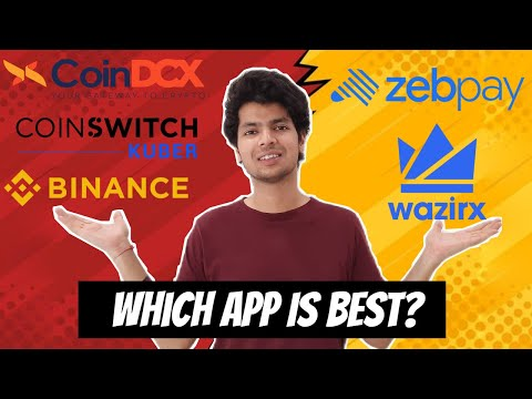 Which Is The Best Crypto Exchange App In India 2021 | Top 5 Cryptocurrency Trading Apps In India