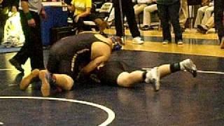 Justin Kanson 1/14/11 OPHS Wrestling Battle of Manassas match 2