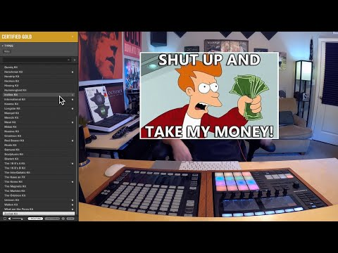 Maschine MK3 | Certified Gold Expansion Review | Making A Beat