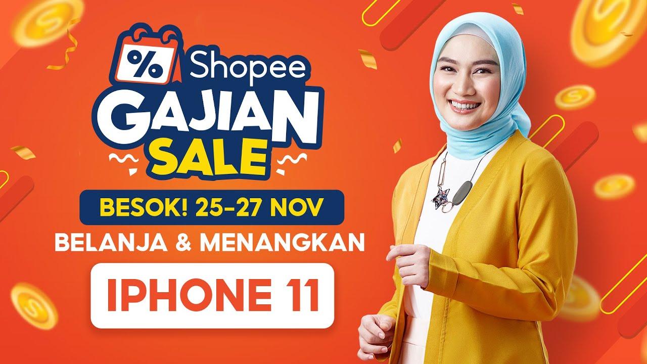 Shopee Gajian Sale | BESOK! Nikmati Gratis Ongkir RP 0 SEPUASNYA!