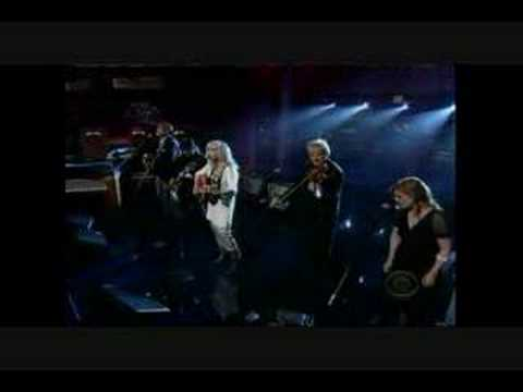 "Emmylou Harris: ""All I Intended To Be"" - Letterman"