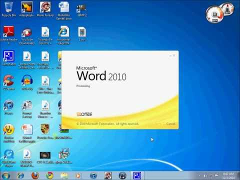 How to install Microsoft Office 2010