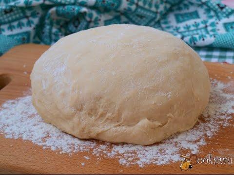 Пять простых рецептов теста для пиццы Кухни мира Кухня