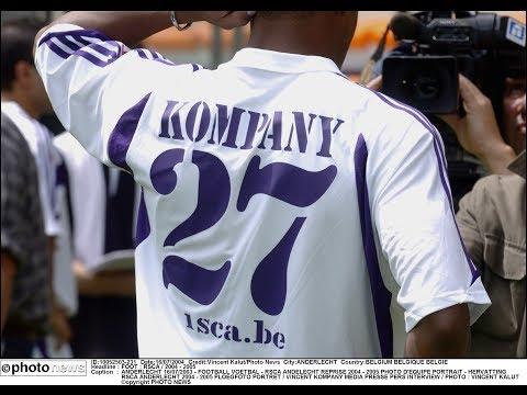 Kompany First Pro Goal for RSC Anderlecht