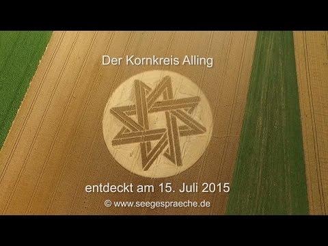 Kornkreis Alling / Biburg – Bayern – 2015 – Die Seegespräche – Reportage - Crop Circle